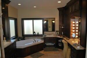 Custom Home Builders Bathroom Design