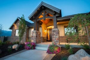 Custom Home in Alpine, Utah