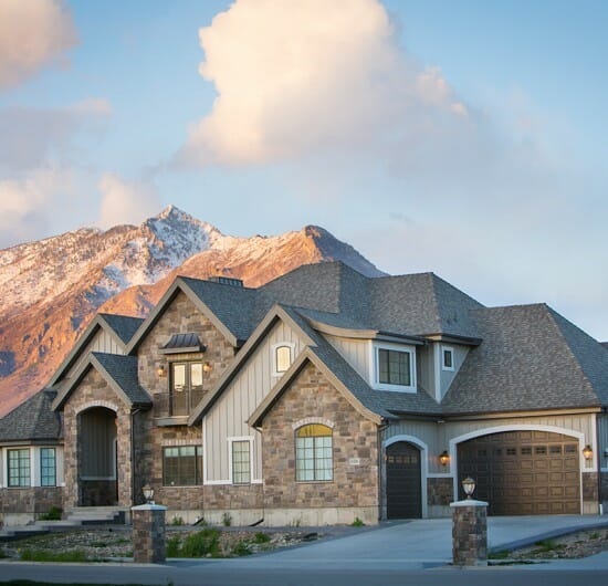 Home Ward Design Utah: Custom Home Builder Utah. Lane Myers Construction Utah