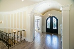 Utah Home Builder Custom Vaulted Entry