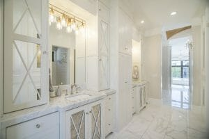 Utah Valley Parade of Homes Marble Floor