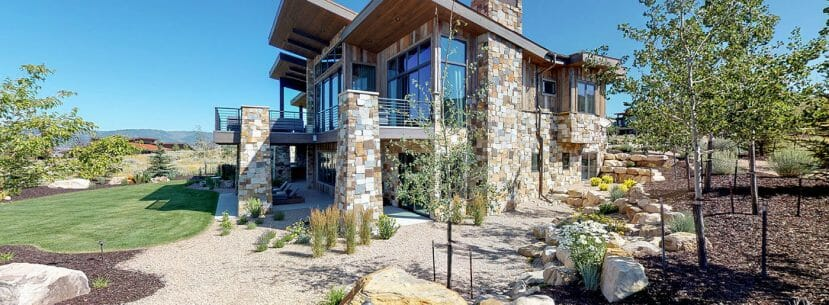 Park City Custom Home Exterior 4