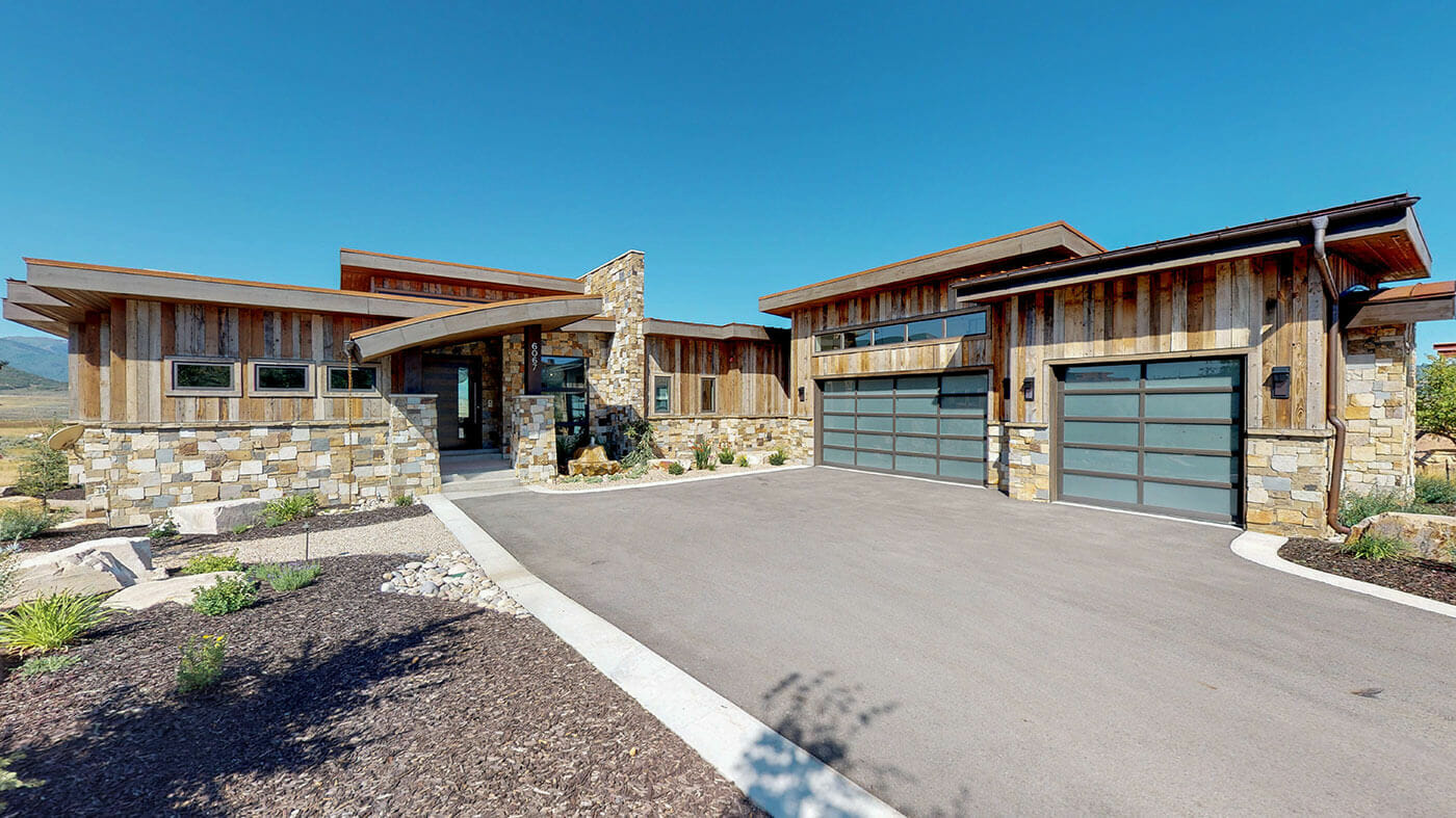 Park City Custom Home Exterior 3