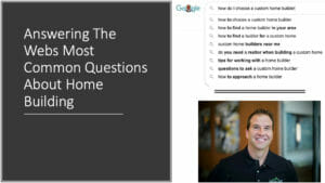 FAQ ABOUT CUSTOM HOME BUILDING | HIGHLAND CUSTOM HOMES